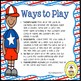 Patriotic Speech Therapy Irregular Plurals