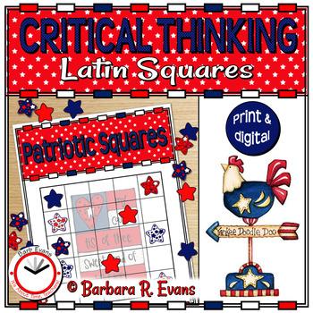 PROBLEM SOLVING: Patriotic Squares (Latin Squares)