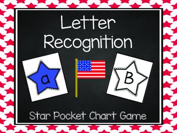 Patriotic Star Letter Recognition
