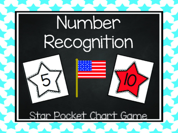 Patriotic Star Number Recognition
