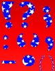 Alphabet Letters Clipart - Stars