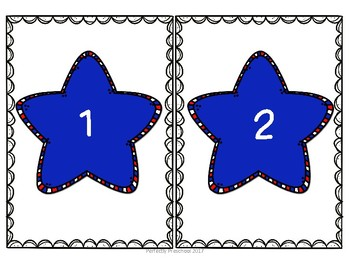 Patriotic Stars Syllable Count