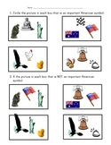 Patriotic Symbols Assessment
