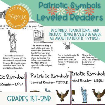 Patriotic Symbols Leveled Readers