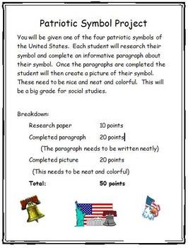 Patriotic Symbols Research Project