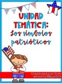 Patriotic Symbols Unit in Spanish