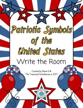 Patriotic Symbols Write the Room