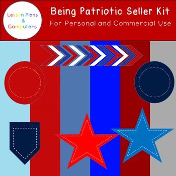 Patriotic TPT Seller Kit