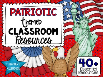 Patriotic Theme Decor Pack