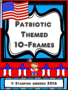 10 Frames - Patriotic Themed