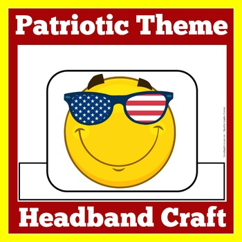 Patriotic Themed Classroom | Patriotic Theme | Patriotic Craft Activity