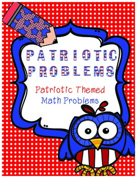 Patriotic Themed Math Word Problems