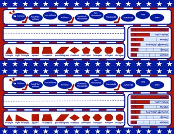 Patriotic-Themed Name Tags