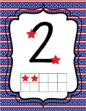 Patriotic Touch Math Posters