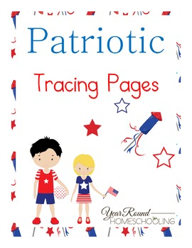 Patriotic Tracing Pages