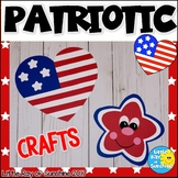 Patriotic Heart & Star Crafts