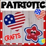 Patriotic Heart & Star Crafts