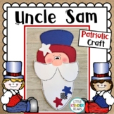 """Patriotic """"Uncle Sam"""" Craft: Summer or Presidents Day"""