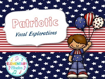 Patriotic Vocal Explorations