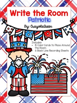 Patriotic Write the Room