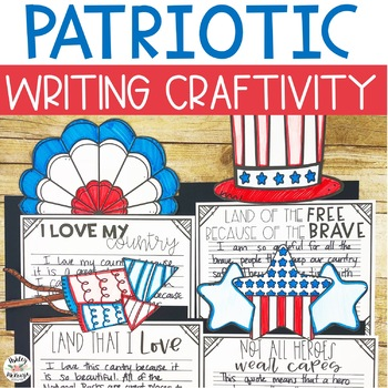 Patriotic Writing Craftivity