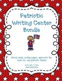 Patriotic Writing Center Bundle