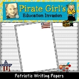 Patriotic Writing Papers