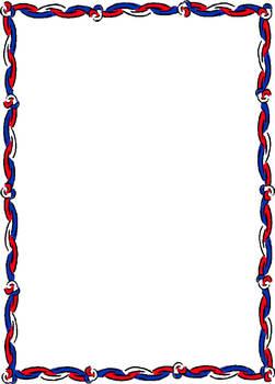 Patriotic or Veterans Day Illustration Page for Portfolio