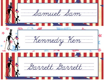 Patriotic/Election Name Tags