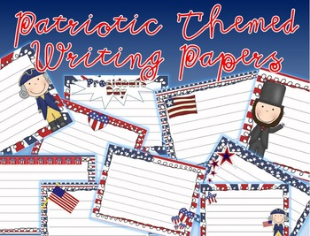 Patriotioc Theme Paper Pack - Presidents' Day Paper