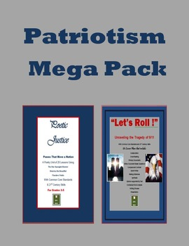 Patriotism Performance Task Megapack