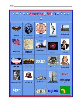 Patriotism, U.S. History, 4th of July Unit Plan/Materials (Extended School Year)