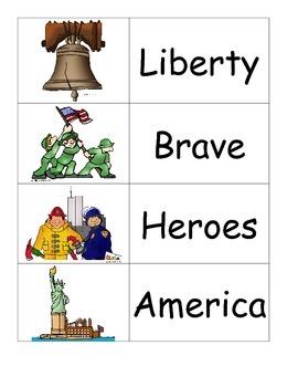 Patriotism Word Wall