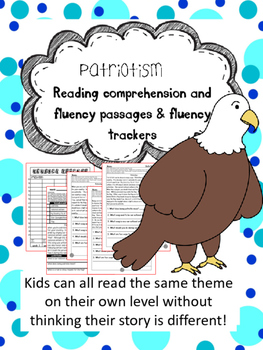 Patriotism fluency and comprehension leveled passage