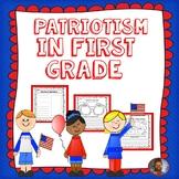 PATRIOTISM IN FIRST GRADE