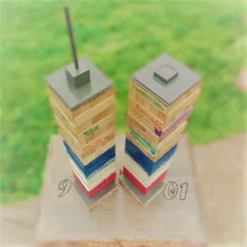 Patriots' Day, 9/11/01, Classroom Project, Build Towers with Your Class