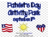 Patriot's Day Activity Pack for September 11th