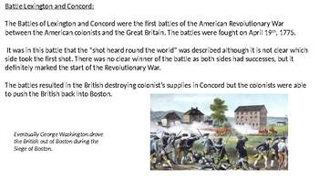 Patriots' Day - Power Point - history, facts, Battle Lexington Concord