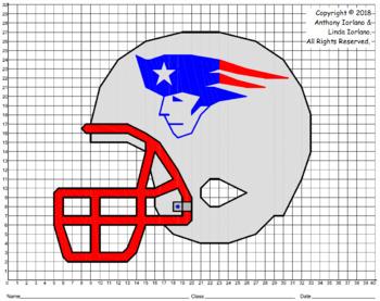 Patriots Helmet Mystery Picture (1 Quadrant)