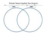 Patriots and Loyalist Venn Diagram