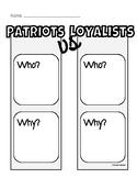 Patriots vs. Loyalists