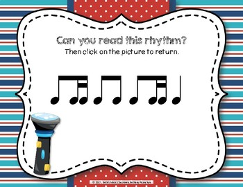 Patrolling Rhythms! Interactive Rhythm Practice Game - Ti-tika
