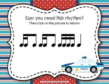 Patrolling Rhythms! Interactive Rhythm Practice Game - Tika-ti