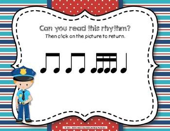 Patrolling Rhythms! Interactive Rhythm Practice Game - Tika-tika