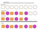 Patron de Dos Figuras/ Pattern Activity