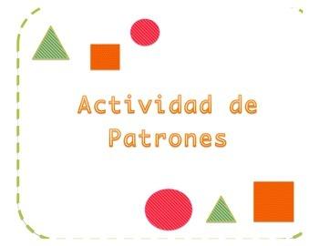 Patron de Tres Figuras/ Pattern Activity