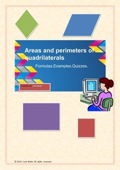 Areas and perimeters of quadrilaterals