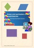 Areas and perimeters of quadrilaterals