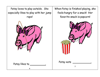 Patsy the Pig-Interactive/Adapted Book