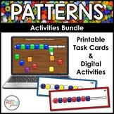 Pattern Activities Bundle - Print and Digital